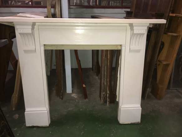 salvaged, recycled, demolition, reproduction, restoration, renovation,collectable, secondhand, used , original, old, reclaimed, heritage, antique, victorian, edwardian, georgian, deco Original pine mantle piece, top shelf is 1630 mm , height is 1280 mm , $ 330