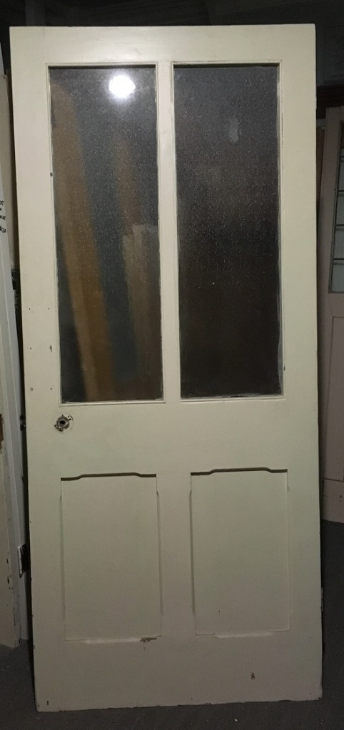 Bungalow door with glass panels, 910 mm x 2080 mm $ 145