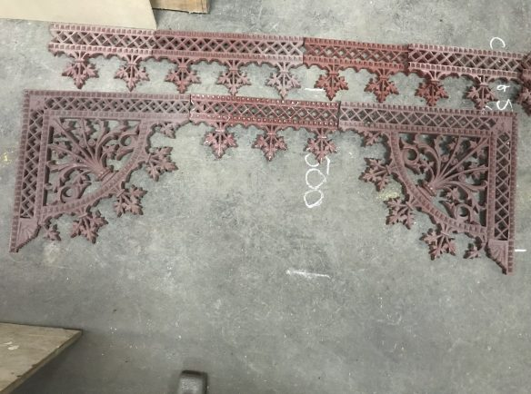 salvaged, recycled, demolition, reproduction, restoration, renovation,collectable, secondhand, used , original, old, reclaimed, heritage, antique, victorian, edwardian, georgian, deco Pair of corners with frieze to suit, approx 3 metres available, $ 250 the set
