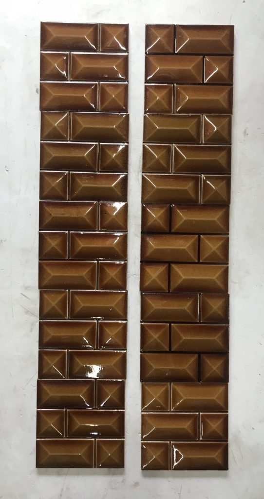 salvaged recycled demolition, reproduction, restoration, renovation,collectable, secondhand, used , original, old, reclaimed, heritage, antique, victorian, edwardian, georgian art nouveau ceramic arts and crafts decorative aesthetic original tile set for fireplace, 10 tiles in total, $ 200 the set OTB