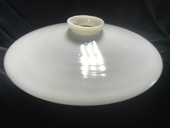 3 x Original milk shades, 220 mm diameter, $ 45 each