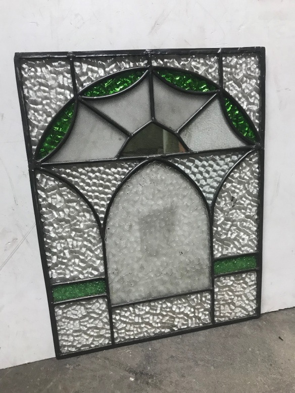 salvaged, recycled, demolition, reproduction, restoration, renovation,collectable, secondhand, used , original, old, reclaimed, heritage, antique, victorian, edwardian, georgian, deco Lead light panels , 335 mm x 450 mm , $ 185 each, 3 available