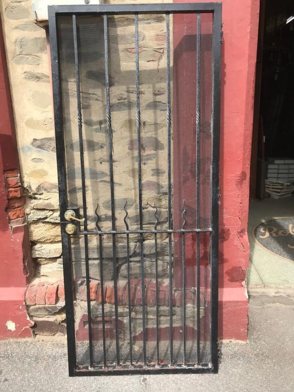 Heavy duty security screen door, 920 mm x 2145 mm , $ 485