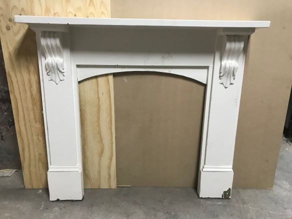 salvaged, recycled, demolition, reproduction, restoration, renovation,collectable, secondhand, used , original, old, reclaimed, heritage, antique, victorian, edwardian, georgian, deco Original Baltic Victorian mantle piece, top shelf is 1350 mm x 1235 mm tall , $385