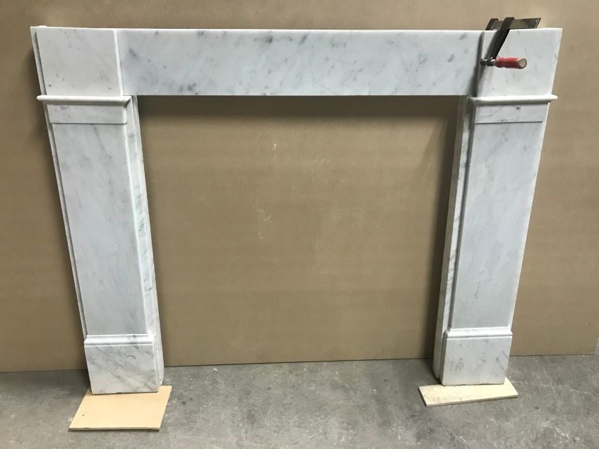 salvaged, recycled, demolition, reproduction, restoration, renovation,collectable, secondhand, used , original, old, reclaimed, heritage, antique, victorian, edwardian, georgian, deco Original Georgian restored marble mantle piece, top shelf is 1570 mm x 1140 mm tall, $ 2200
