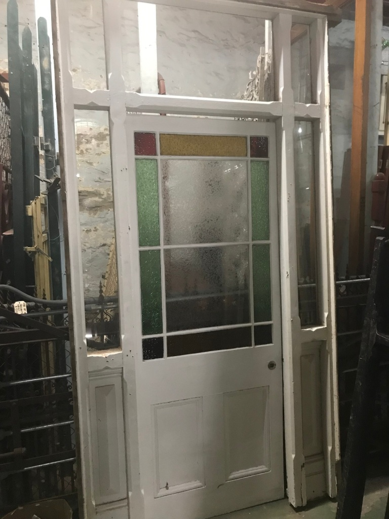 End of Passage door frame with Astragal door is 1370 mm wide x 2600 mm tall , $950