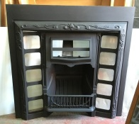 Restored original G and K No.12 cast iron fireplace insert, hood designed for fireplace tiles, 965 x 965mm $585 open fire grate insert fireplace salvaged, recycled, demolition, reproduction, restoration, renovation,collectable, secondhand, used , original, old, reclaimed, heritage, antique, victorian, art nouveau edwardian, georgian, art deco Restored original G and K No.12 cast iron fireplace insert, hood designed for fireplace tiles, 965 x 965mm $550 salvaged, recycled, demolition, reproduction, restoration, renovation,collectable, secondhand, used , original, old, reclaimed, heritage, antique, victorian, edwardian, georgian, art deco wood burner, open fire