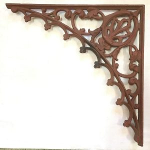 Original cast iron verandah lacework corners 4 available 515 x 515mm $75 each O.R.