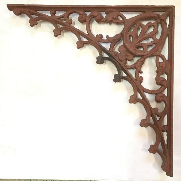 Original cast iron verandah lacework corners 4 available 515 x 515mm $75 each O.R.