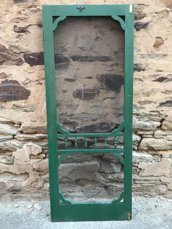 Heritage style screen door , 810 mm x 2040 mm , $ 145
