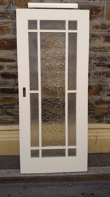 internal sliding door, we have 2 matching, one is 875 mm wide x 2040 mm tall , the other is 870 mm wide x 2040 mm tall , $ 330 each door