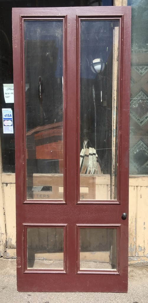salvaged, recycled, demolition, reproduction, restoration, renovation,collectable, secondhand, used , original, old, reclaimed, heritage, antique, victorian, art nouveau edwardian, georgian, art deco Original screen door frame - currently has perspex in place of mesh. Width 835 x 2063mm, $85