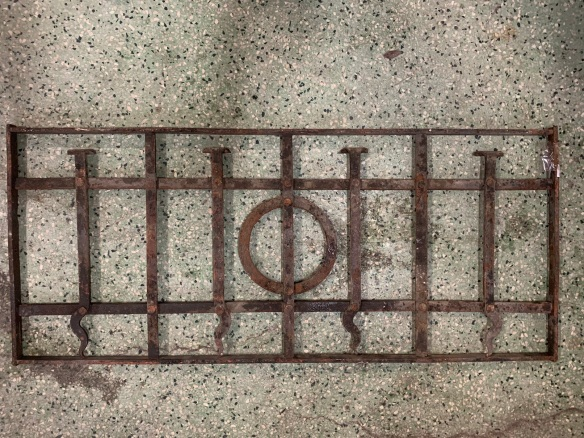 P 10 , Decorative iron panel , 810 mm x 345 mm , $ 145