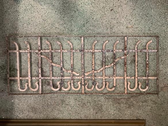 P 1 , Decorative iron panel , 1260 mm x 490 mm , $ 220