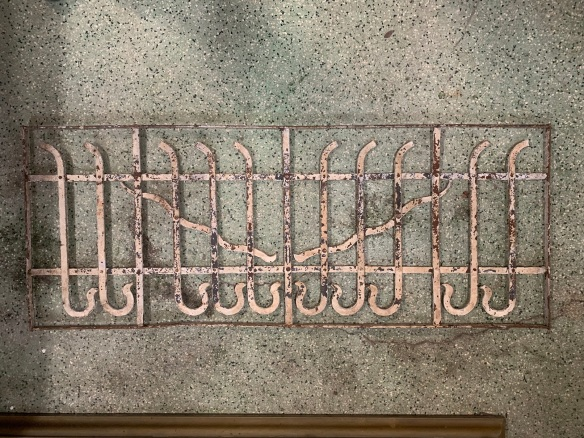 P 1 , Decorative iron panel , 1260 mm x 490 mm , $ 220
