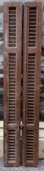 Timber shutters , 410 mm x 1905 mm , $ 245 the set , SET D