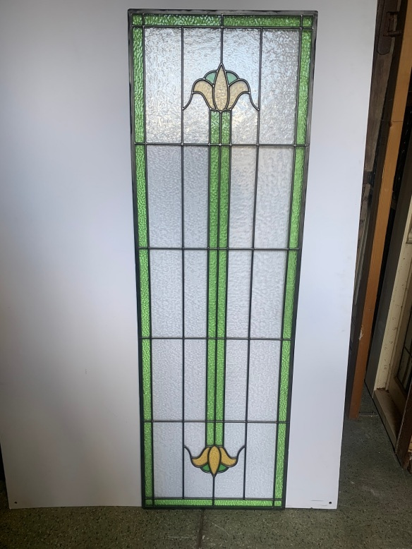 salvagedLead light panel , 1608 mm x 515 mm , $ 445, recycled, demolition, reproduction, restoration, renovation,collectable, secondhand, used , original, old, reclaimed, heritage, antique, victorian, art nouveau edwardian, georgian, art deco