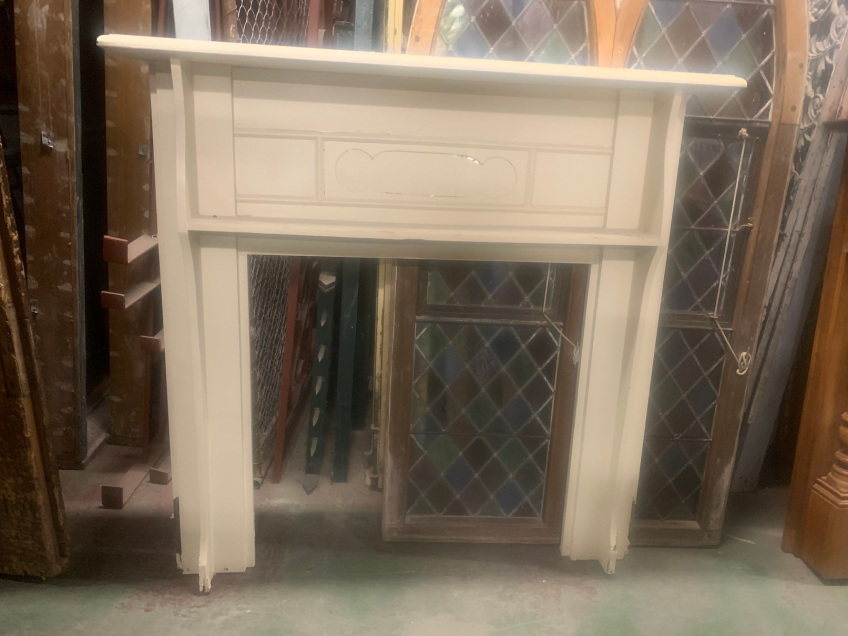 Bungalow style mantle piece , top shelf is 1420 mm x 215 mm , height is 1390 mm , opening is 915 mm wide x 910 mm tall , $ 330 salvaged, recycled, demolition, reproduction, restoration, renovation,collectable, secondhand, used , original, old, reclaimed, heritage, antique, victorian, art nouveau edwardian, georgian, art deco