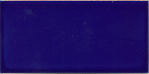 Victorian Blue reproduction 3 x 6 inch / 152 x 76 x 9mm hearth, fireplace or washstand tiles. Vivid cobalt blue, gloss glaze. 107 tiles available in store 11 June 2020. $4.95 each tile.salvaged, recycled, demolition, reproduction, restoration, home renovation secondhand, used , original, old, reclaimed, heritage, antique, victorian, art nouveau edwardian, georgian, art deco