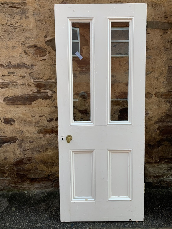 Glass top Victorian door , 2040 mm x 805 mm , $ 250