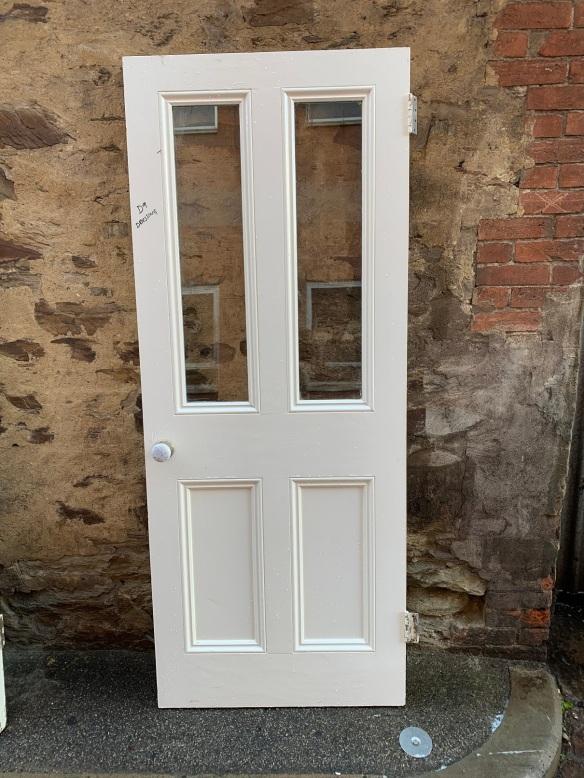 Glass topped Victorian door , 2012 mm x810 mm , $ 250