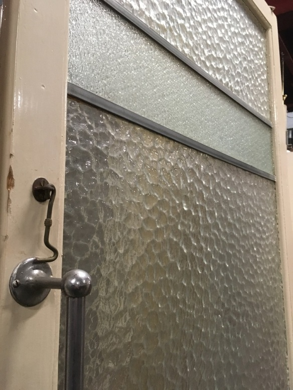 salvaged, vintage recycled, demolition, reproduction, restoration, home renovation secondhand, used , original, old, reclaimed, heritage, antique, victorian, art nouveau edwardian, georgian, art decoPair of vintage swing doors, panes of rippled and textured glass approx width 1700 x h 1995mm $480salvaged, recycled, demolition, reproduction, restoration, home renovation secondhand, used , original, old, reclaimed, heritage, antique, victorian, art nouveau edwardian, georgian, art deco vintage