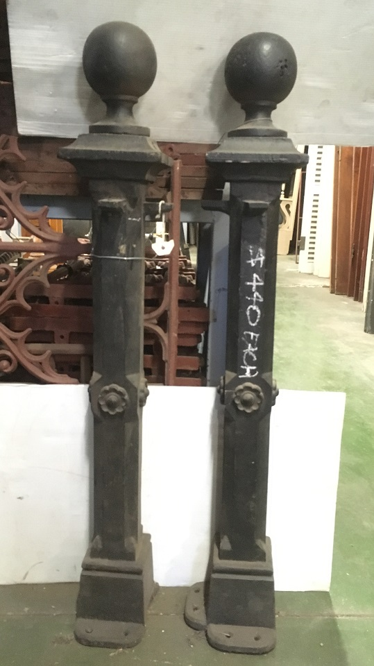 Original Victorian era heavy cast iron bollards h 950mm, $440 each vintage salvaged 1800s 1900 1910 1920 1930 1940 1950 recycled demolition reproduction, restoration, renovation secondhand, used , original,old,reclaimed,heritage,antique, victorian,art nouveau edwardian, georgian,art decoSingle pendant light with white glass shade , 200 mm diameter x 1250 mm drop , 2 matching available , $ 145 each