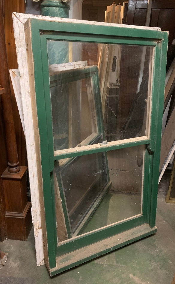 Sash window, w 920 x h 1520mm, $220 salvaged, recycled, demolition, reproduction, restoration, home renovation secondhand, used , original, old, reclaimed, heritage, antique, victorian, art nouveau edwardian, georgian, art deco