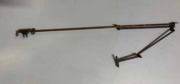 Fanlight opener with Florentine Bronze finish , 700 mm long, $ 125