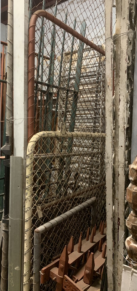 Cyclone wire gates, tube steel, assorted sizes from $40 salvaged, recycled, demolition, reproduction, restoration, home renovation secondhand, used , original, old, reclaimed, heritage, antique, victorian, art nouveau edwardian, georgian, art deco